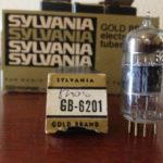 Sylvania 6201 Gold Pin